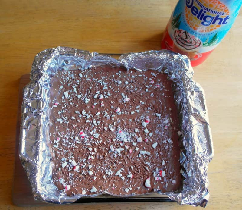 Peppermint Mocha Fudge