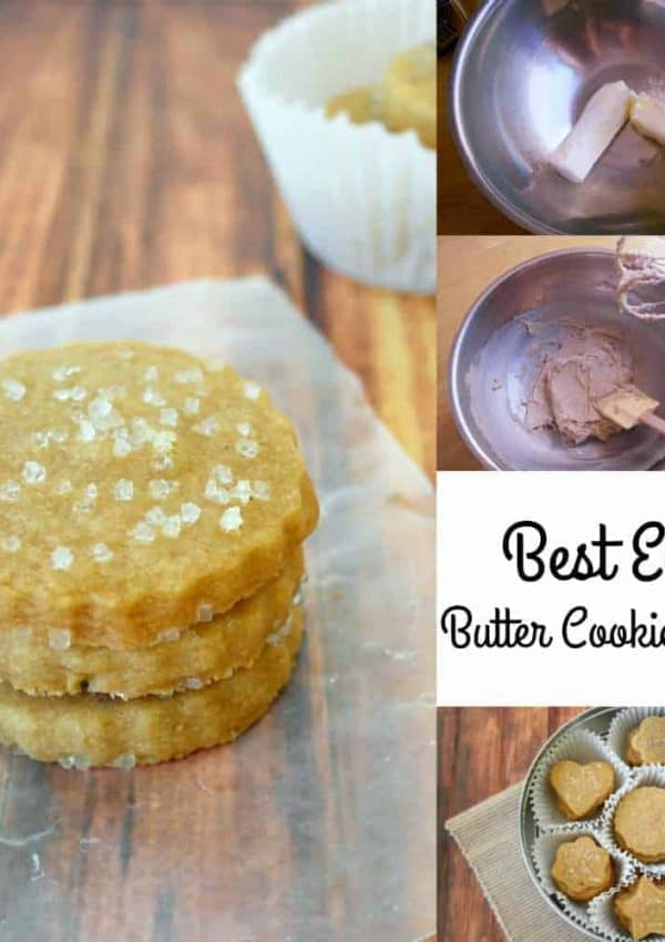There is nothing as delicious as this Butter Cookie Recipe, and truly no cookie as easy to make. The simple classic list of ingredients coupled with the use of the Hamilton Beach 6 Speed Hand Mixer make it a fast and easy recipe to make to serve as a special dessert, kids lunch box treat or even holiday cookie. - Teaspoon Of Goodness