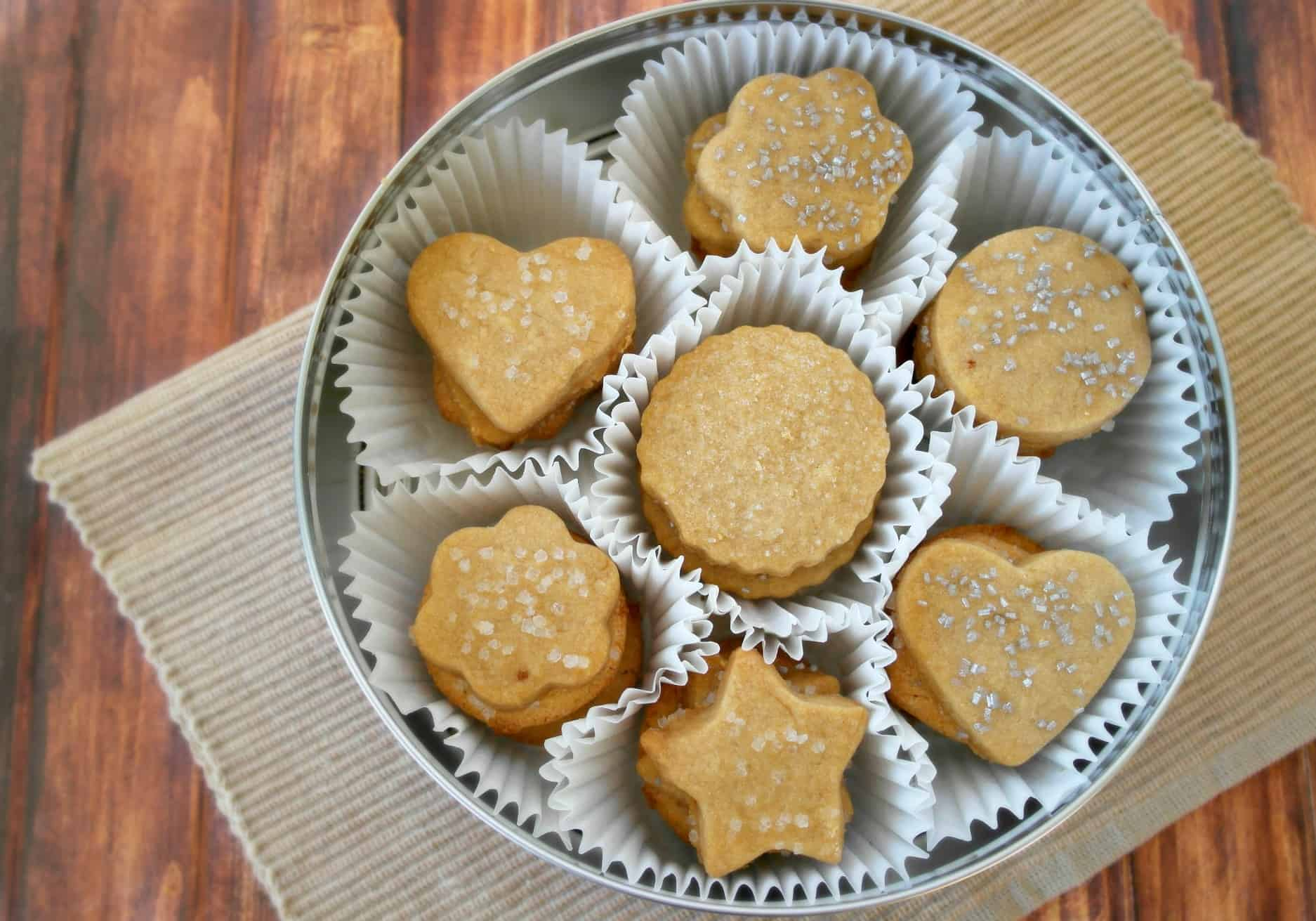 Butter Cookie Recipe - Teaspoon Of Goodness
