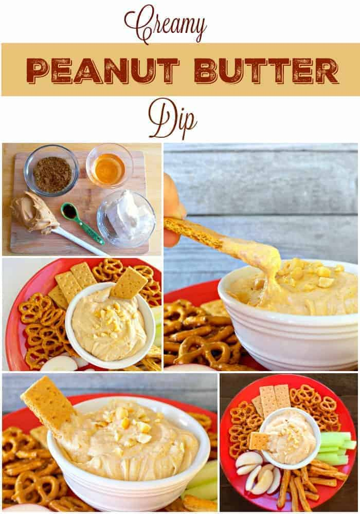 Creamy Peanut Butter Dip