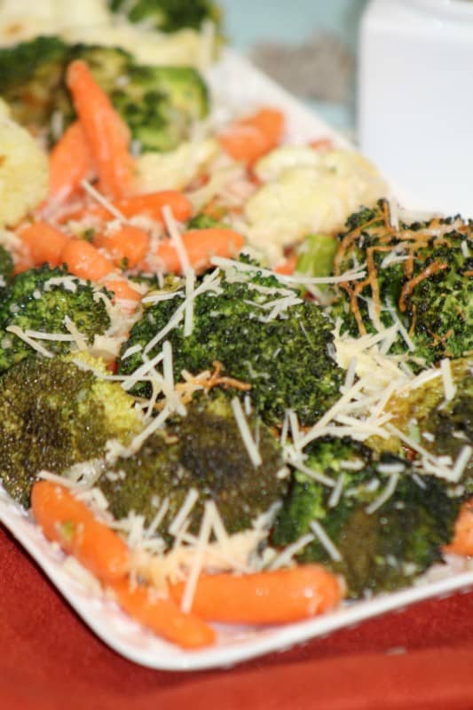 If you struggle to get your kids to eat vegetables, this Parmesan Roasted Veggies recipe is the perfect solution. With tons of great nutrient-dense vegetables and great flavors kids won't complain when you add this to their plate. - Teaspoon Of Goodness