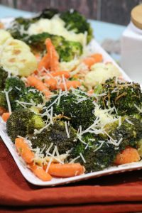 Parmesan Roasted Veggies