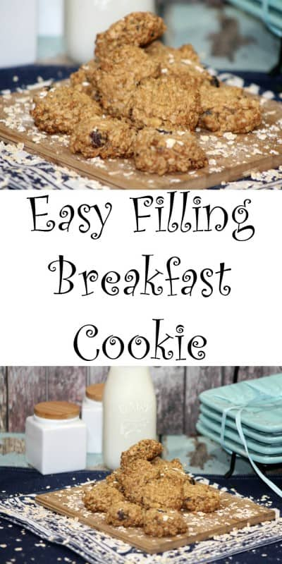 Who wouldn't love to have a healthy breakfast cookie every morning? This healthy breakfast cookie totally changes how you view on-the-go breakfasts! - Teaspoon Of Goodness
