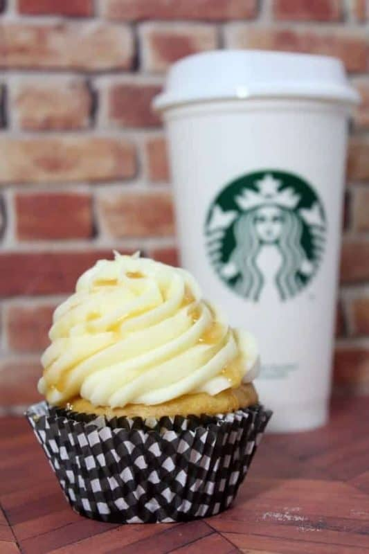 The subtle coffee flavors combined with my favorite salted caramel and buttercream frosting are just the right combination to go alongside my after dinner coffee drink.