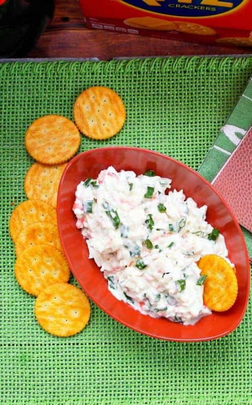 how to make crab dip easy