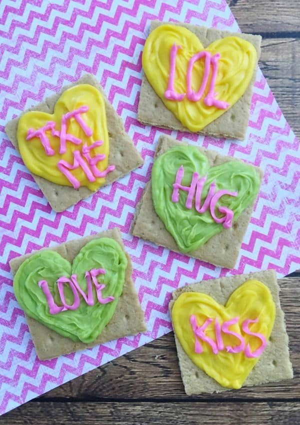 Easy Conversation Hearts Valentine's Day Recipe