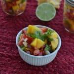 Homemade Mango Salsa