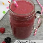 Mixed Berry Smoothie with Kale