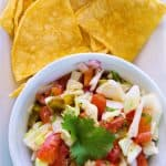 Crunchy Cabbage Salsa Recipe