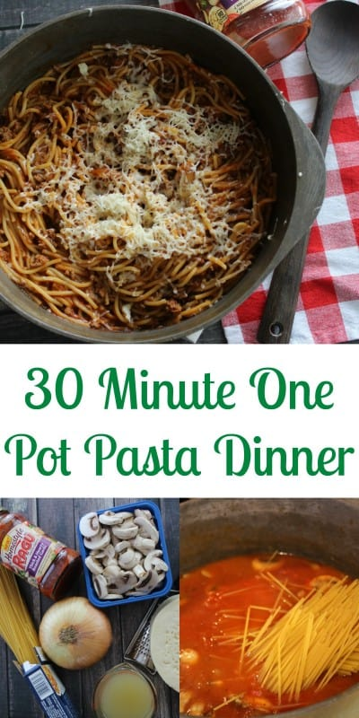 Busy nights call for quick meals and I often need to cut corners without cutting out the quality and flavor of my meals - a one pot pasta dinner to the rescue! - Teaspoon of Goodness