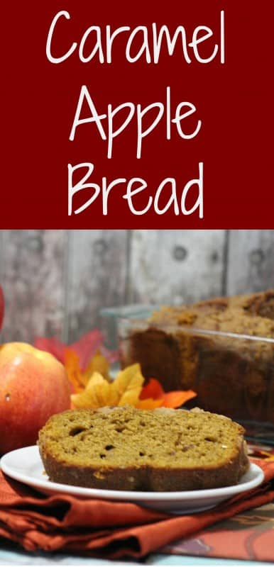 From the delicious combination of flavors in then bread, to the luscious caramel topping it is an ideal breakfast bread, tea bread or even decadent dessert with a scoop of vanilla bean ice cream on the side. - Teaspoon of Goodness