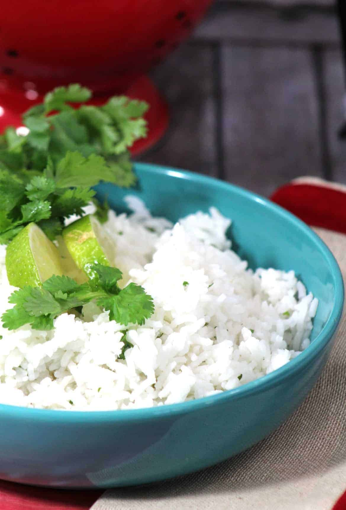 One Pot Cilantro Lime Rice Recipe
