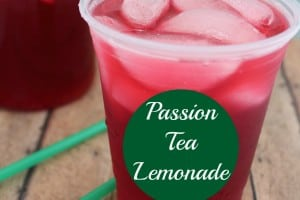 If you often find yourself spending too much at Starbucks for your favorite cold drink, then you will love our Copycat Starbucks Passion Tea Lemonade recipe. - Teaspoon Of Goodness