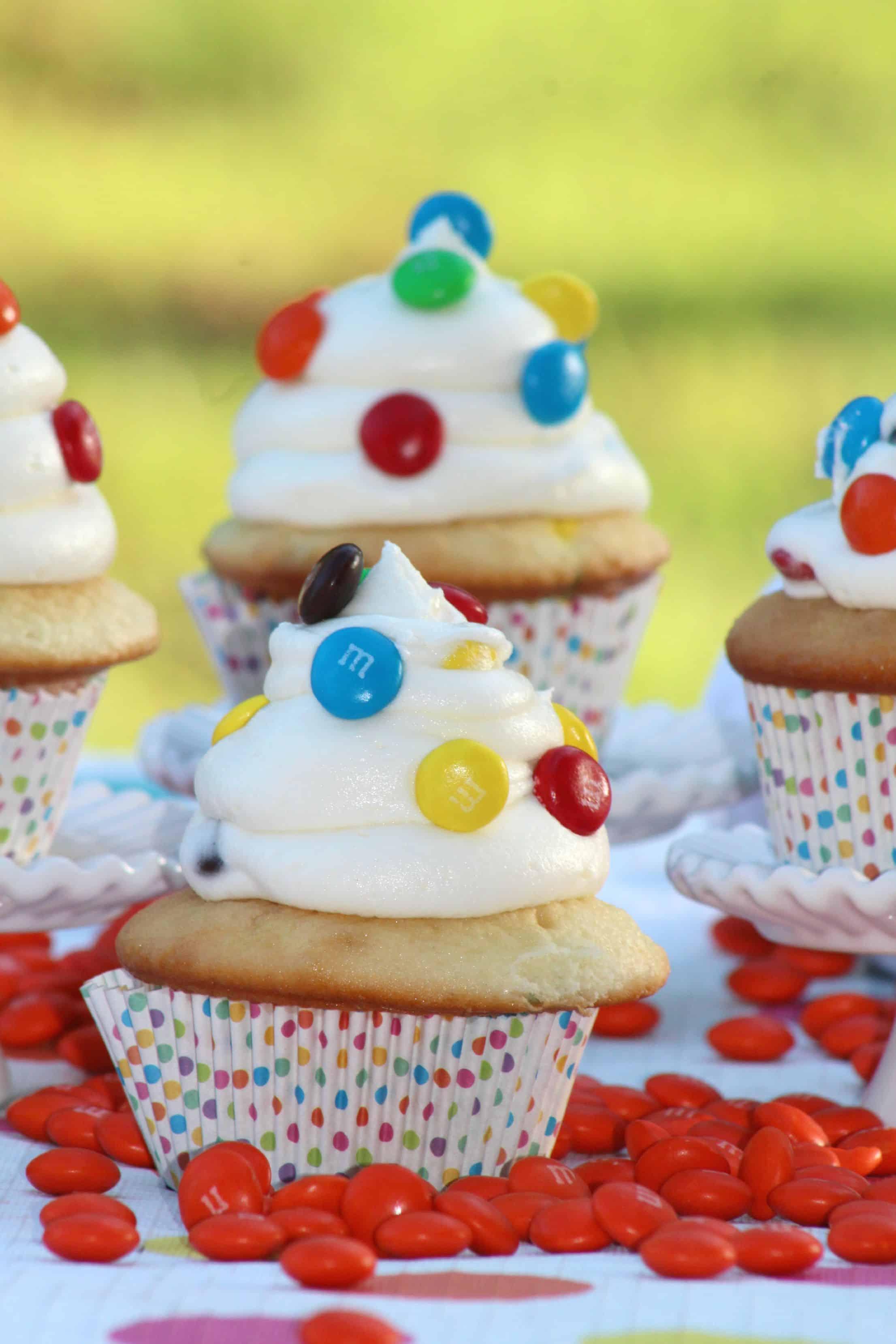 M&M Cupcakes Recipe
