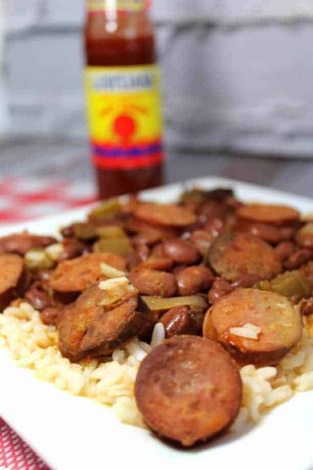 Cajun Sausage & Red Beans Recipe