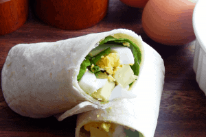 I love the versatility of wraps for breakfast and lunch. One of my favorite hearty and healthy options is this simple Spinach Avocado Egg Wrap. - Teaspoon Of Goodness