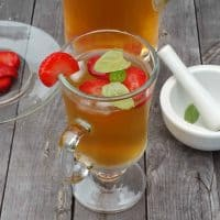 Strawberry Mint Iced Tea Recipe