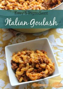 5 Ingredient Italian Goulash