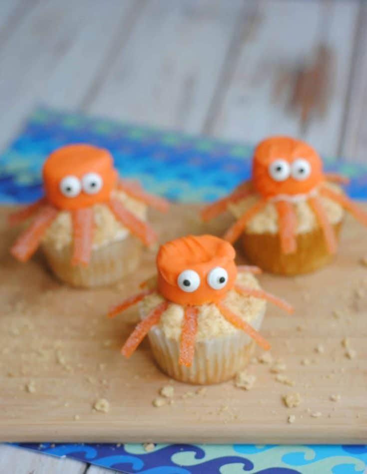 Octopus Cupcakes Recipe