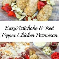 Tuscan Inspired Easy Chicken Parmesan