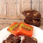 3 Ingredient Peanut Butter Cup No Bake Fudge Bars Recipe