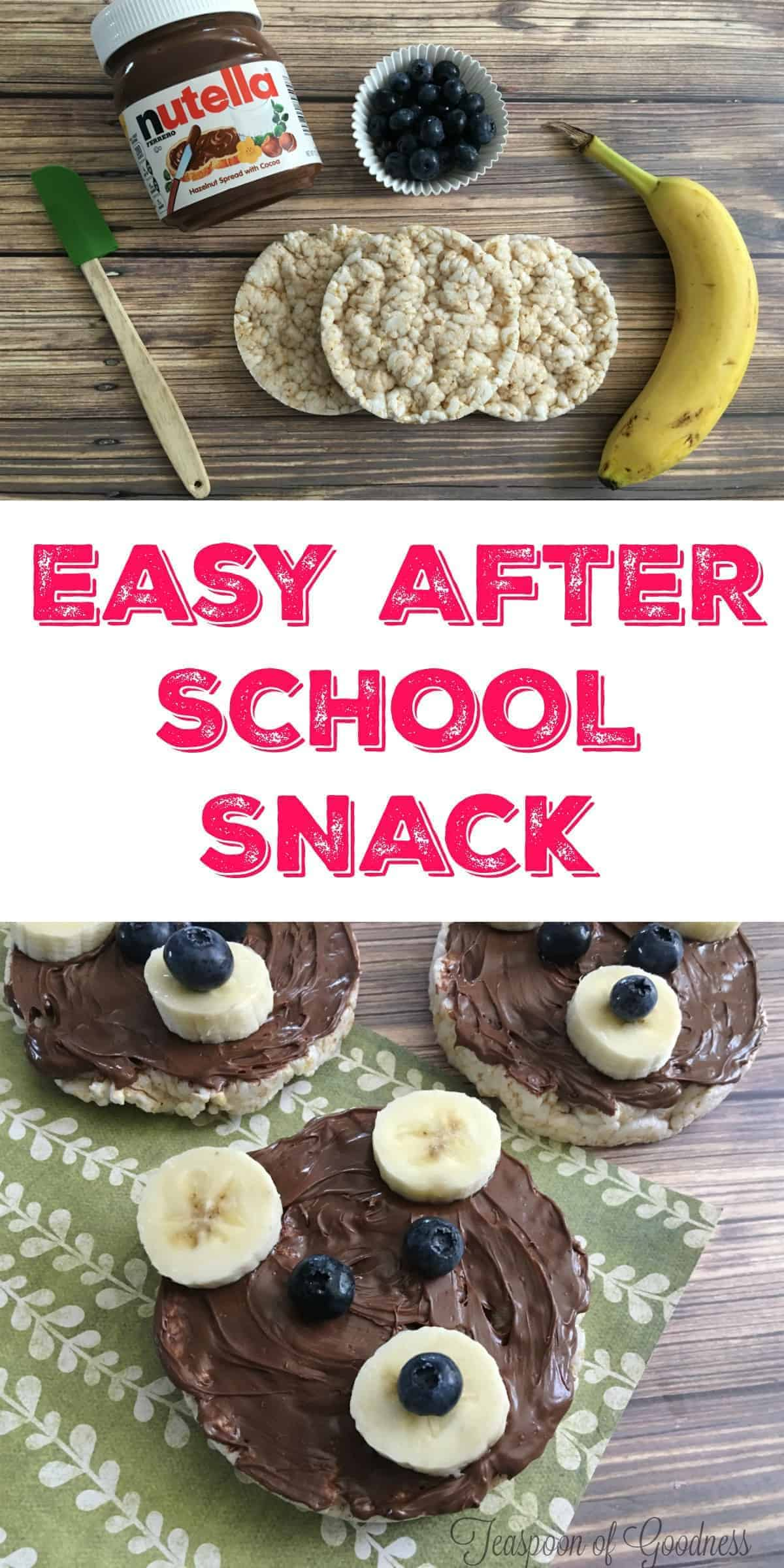I Love Fun After School Snack Ideas For My Kids And This Three Bears Nutella