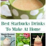 Best Starbucks Drinks To Make At Home