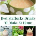 Best Starbucks Drinks To Make At Home