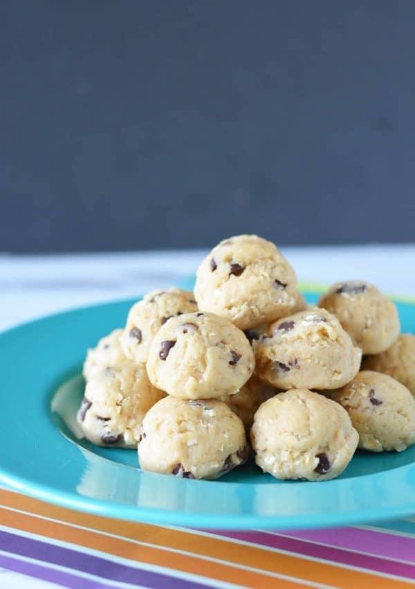 No Bake Chocolate Chip Cookies Ball Recipe