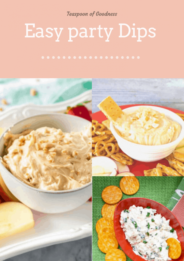 Inexpensive & Easy Party Dips