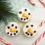 Snowman Rice Cereal Treats Recipe