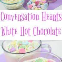 Conversation Hearts Hot Cocoa Recipe