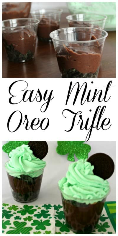If you want the ultimate decadent recipe then look no further than our favorite Mint Oreo Trifle Recipe. - Teaspoon of Goodness