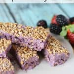 Grape-Nut Yogurt Bar Recipe