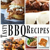 Fire up your grill and make some of these 15 Tasty BBQ Recipes! It's time to enjoy the beautiful warmer weather outside, and that, to many, means turning on the grill and making some of our favorite bbq recipes. - Teaspoon of Goodness