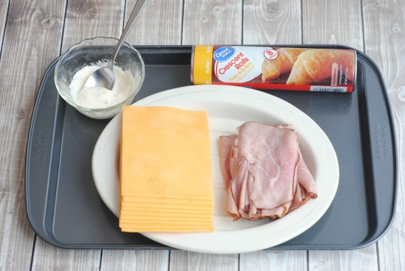 Ham & Cheese Croissants are the perfect meal any time of day. Whether you serve these for breakfast, lunch, or dinner, they are going to make everyone in your house happy.  - Teaspoon of Goodness