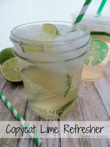 When it starts getting hot outside, one of the best Starbucks drinks you can make is this Copycat Lime Refresher. I love making these at home to save time and money, but also to be able to enjoy a special treat any time of day. - Teaspoon of Goodness