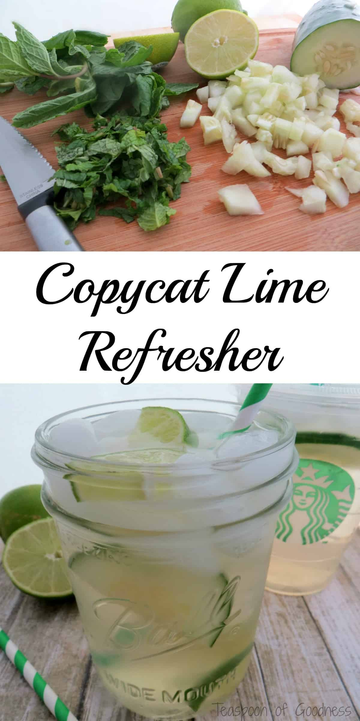 cool lime refresha