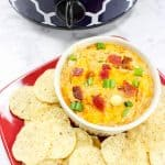 Crockpot BBQ Chicken Wing Dip