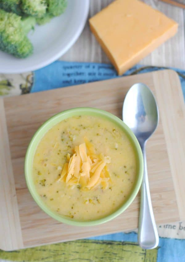 How To Make A Creamy Cheesy Broccoli Soup Your Kids Will Love