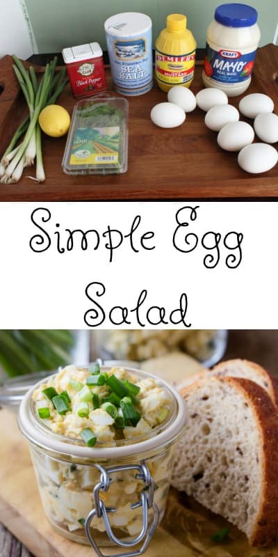 Egg Salad has long been a favorite for lunchboxes, ladies teas, baby showers, and birthday parties. It whips up in minutes, is frugal and easy to make, and is high in protein. - Teaspoon of Goodness