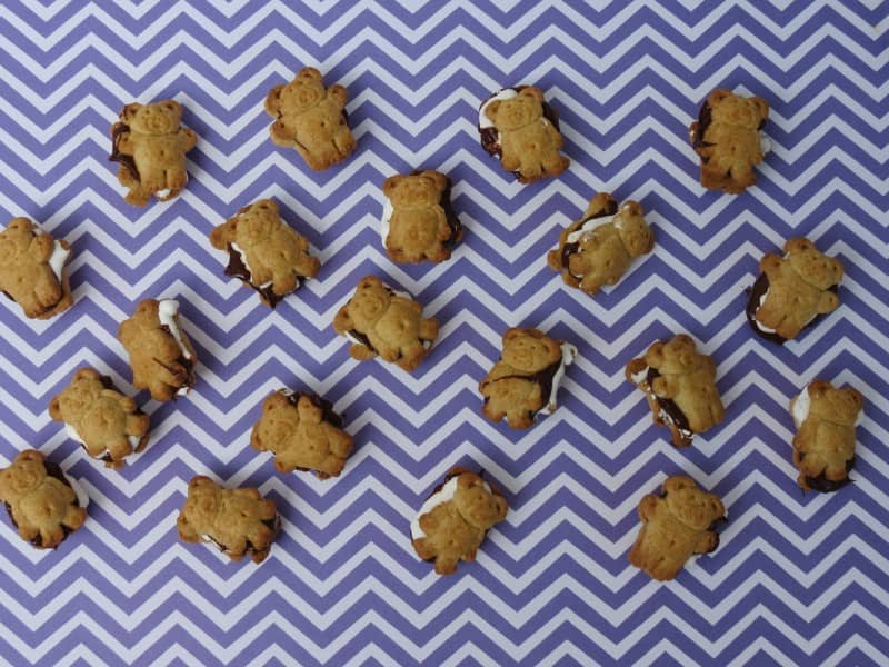 My kids are all about snack time. Even if they just ate! That's when I break out these S'mores Teddy Bears that are Easy Snacks for Kids.