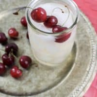 Using simple ingredients, my Cherry Sangria recipe is light and refreshing. - Teaspoon of Goodness