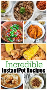 Lucky recipient of an Instant Pot or other electric pressure cooker recently? Well then of course you're on the lookout for some new instant pot recipes? - Teaspoon of Goodness