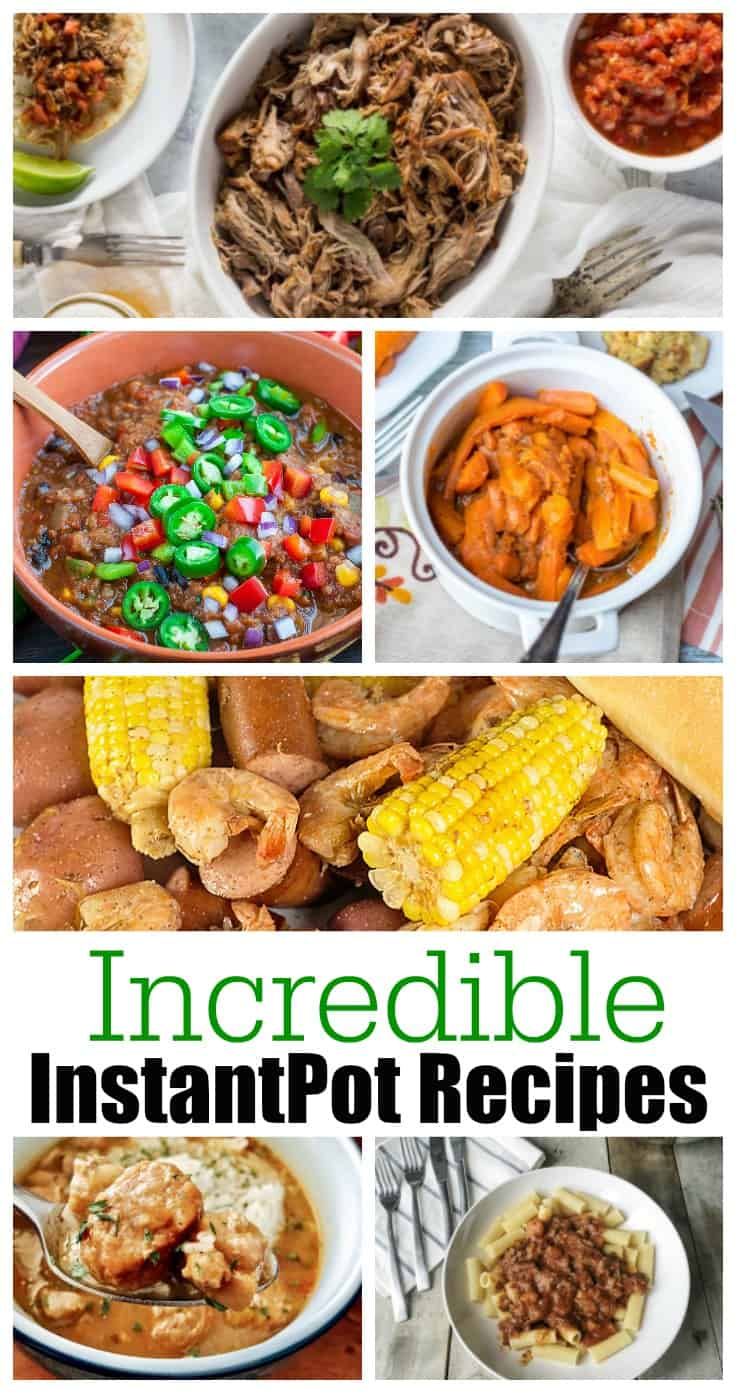 18 Incredible Instant Pot Recipes