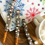 Hot Chocolate Dipped Pretzel Recipe