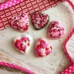 Homemade Chocolate Candy Hearts