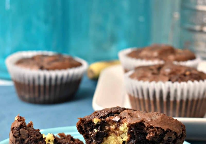 Cookie Filled Brownies