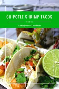 Chipotle Shrimp Taco