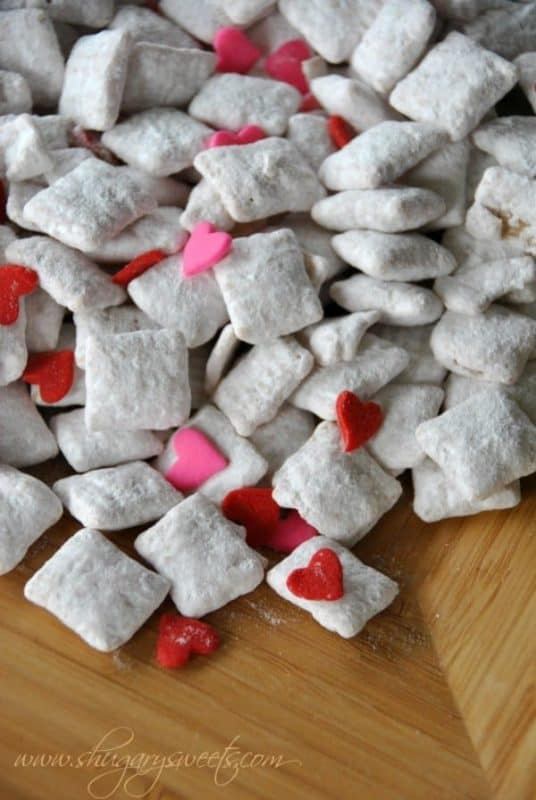Cherry Vanilla Puppy Chow Recipe